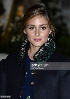 Olivia Palermo attends the Burberry show during London Fashion Week Spring/Summer collections 2017 on September 19 2016 in London United Kingdom