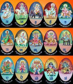 Many Forms of Devi Mata Saraswati Goddess, Durga Maa, Goddess Art, Goddess Lakshmi, Hindu Rituals, Hindu Mantras, Om Namah Shivaya, Mother Kali, Mother Goddess