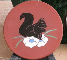 Pattern Squirrel Stained Glass Garden Yard Art Stepping Stone Mosaic