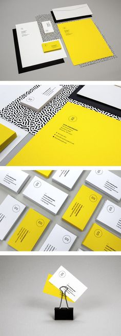 Personal stationery including logo, business cards and letterhead. #branding #identity #corporatedesign