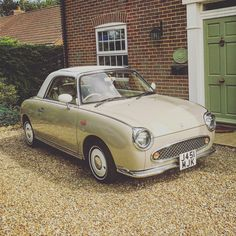 Nissan figaro with whitewall tyres