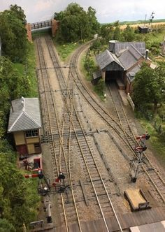 Encombe Station approach trackwork