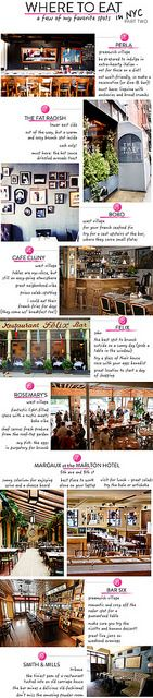 where-to-eat-in-nyc by jamie meares, via Flickr