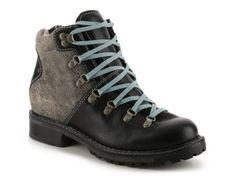Women's Woolrich Rockies Bootie - Black/Blue