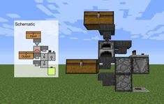 I made a compact charcoal generator. Can it be made smaller? I made a compact charcoal generator. Can it be made smaller? Minecraft Redstone Creations, Construction Minecraft, Minecraft Building Guide, Minecraft Farm, Minecraft Plans, Minecraft Tutorial, Minecraft Blueprints, Minecraft Crafts, Minecraft Houses