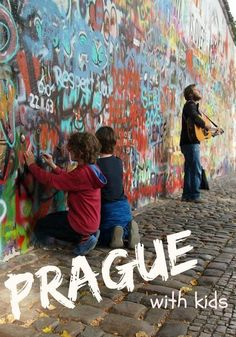 Prague with kids. Prague highlights and a child friendly tour. So what's with the graffiti?