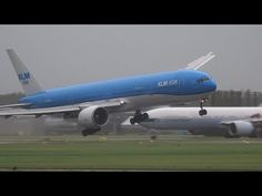 KLM Boeing 777 X-Wind Slayer at Schiphol Airport, The Netherlands via 17splinter