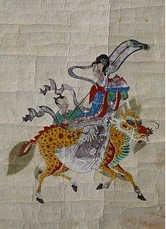 Dragon Face, Horse Mane, Skin So Soft, Chinoiserie, Horns, Deer, Oriental, Moose Art, Folk
