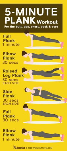 Planking is one of the hardest exercises to do. It uses most of your energy as it strengthens your core. If you have been dreaming about the perfect bod, do not hesitate to click the link. This is what you need for exercise endurance.
