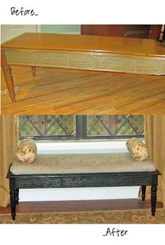Coffee Table to bench
