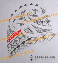 shoulder tattoo arrows and spearheads sketch