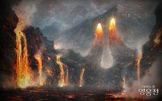 용암 지대 - Google 검색