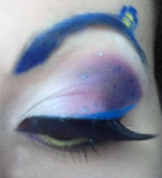 Tardis Makeup by ~SelyaChan on deviantART