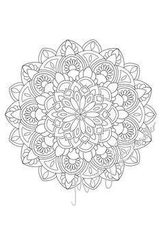 Printable Coloring Pages Mandala Adult Coloring Pages Mandala S X 4 Printable Coloring Page for Adults Set 2 Mothers Day Coloring Pages, Birthday Coloring Pages, Pattern Coloring Pages, Free Adult Coloring Pages, Coloring Pages For Boys, Christmas Coloring Pages, Coloring Book Pages, Printable Coloring Pages, Zoo Animal Coloring Pages