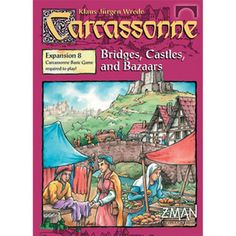 Carcassonne Expansion 8 Bridges, Castles and Bazaars The Board Game
