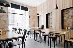 'O Petit en K' restaurant in Bordeaux by Hekla