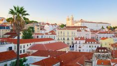 48 Hours to Fall in Love with Lisbon - via Expedia Canada 26.05.2015   Hilly streets, persimmon coloured rooftops, and buildings covered in blue azulejos. Those were the images I had in my mind prior to visiting Lisbon, and reality did not disappoint. #portugal #travel #tips Photo: Alfama