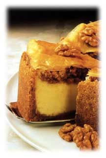 Baklava Cheesecake? That's like Gorgeous Millionaire.