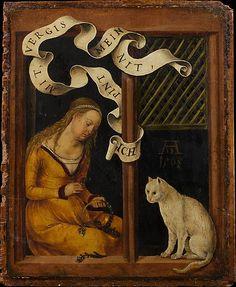 Женщины в истории - Изображения кошек