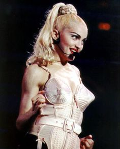 Conical corset by Jean Paul Gaultier