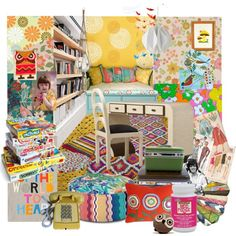 Mod Podge by ditzglitz on Polyvore featuring interior, interiors, interior design, home, home decor, interior decorating, Missoni Home, Retrò, Freek and HAY