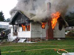 Roberts Creek Volunteer Fire Department (BC)  Live Burn Practice  www.setcomcorp.com