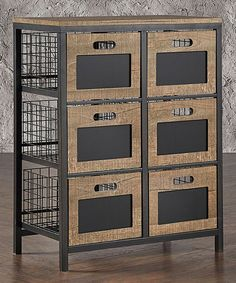 Look at this Belden Six-Drawer Chest on #zulily today!