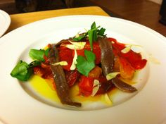 Antipasti with Anchovies