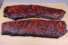 Smoked 3-2-1 St. Louis Ribs