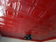 How to Install Interlocking Tin Ceiling Panels Ceiling Panels, Ceiling Tiles, Remodeling Ideas, Tin, Honey, Home Decor, Interior Design, Home Interior Design, Home Decoration