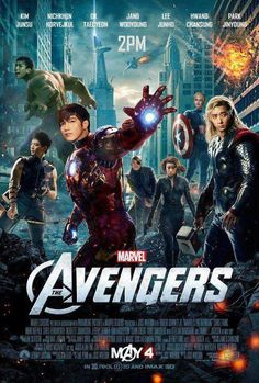 [ALLKPOP] 2PM's 'The Avengers' poster revealed #allkpop #2pm #PinIt