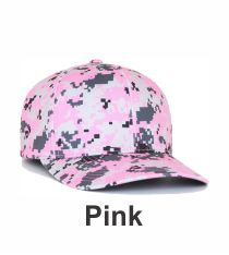 243927abef495 Pink Digital Camo Hat 708F by Pacific Headwear Camo Colors