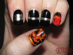 """""""Hunger Games: Catching Fire"""" nails - geek  Fangirl - The Hunger Games"""