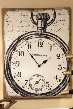 Banntyne Canvas Wall Clock - Clocks - Home Accents - Home Decor #HomeDecorators