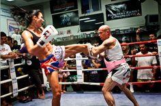 Julie Kitchen, elite female Muay Thai fighter
