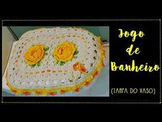 JOGO DE BANHEIRO AMARELO -TAMPA DO VASO - YouTube