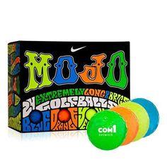 Personalized Nike® Mojo Multi-Color 24 ball pack Std Serv (Q681311)