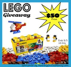 LEGO Giveaway ends 9/5 - IMHO Views, Reviews and Giveaways