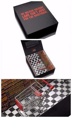 Taylor Box Company- JTG Daugherty Marketing Kit  #design #box #marketing #packaging #package #kit