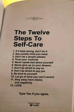 the twelve steps to self-care Wisdom Quotes, True Quotes, Motivational Quotes, Inspirational Quotes, Cherish Quotes, Trust Your Instincts, Self Care Activities, Self Improvement Tips, Self Love Quotes