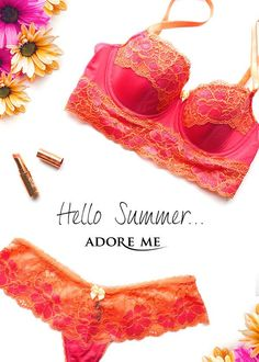 Love lingerie? Join Adore Me's VIP Membership and get your first bra and panty set for 50% off! Every month from there on out, you'll get to choose one set from our brand new monthly collections for up to 30% off (plus, every 6th set is on us!). And if you don't feel like shopping you can skip the month and you won't be charged your monthly membership. Sounds like a pretty sweet deal, right? It's a lacy little treat for yourself each month that doesn't break the bank. Take our lingerie style quiz to get started <3 (Available in sizes 32A-42G | Introductory offer valid 6/15/2015 - 7/30/2015)
