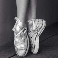 Converse point shoe!