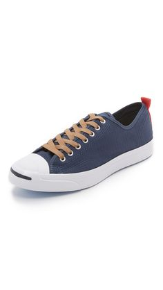 b29ab922e115 CONVERSE Jack Purcell Jack Ripstop Sneakers.  converse  shoes  sneakers. Converse  Jack PurcellConverse MenNavy And WhiteHigh ...