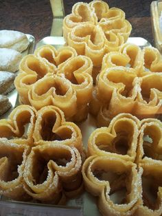 Florones Spanish Desserts, Spanish Dishes, Fancy Desserts, Delicious Desserts, Mexican Food Recipes, My Recipes, Sweet Recipes, Cookie Recipes, Dessert Recipes