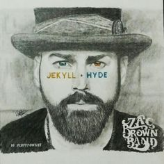Title: Jekyll + Hyde by Zac Brown Band (album drawing)