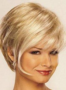 Revlon Classy Wig at The Head Shop Wigs Online Short Hair With Layers, Short Hair Cuts For Women, Short Hairstyles For Women, Straight Hairstyles, Short Haircuts, Everyday Hairstyles, Trending Hairstyles, Wig Hairstyles, Hair Styles 2016