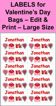 free valentines day bubble template for teachers to give to students simply print the free valentines day cards sign your name and tape them t - Valentines Names