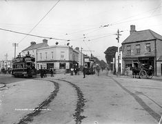 Good images on the journal about the old Dublin tram lines Here's how Dublin was served by trams over 100 years ago A little snippet of history. Old Images, Old Pictures, Old Photos, Vintage Photos, Irish Independence, Irish Culture, Ireland Homes, Dublin City, History Photos