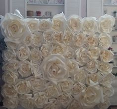 Large  flowers can be used to create an amazing wedding backdrop, unique decorations, home decorations or any of your special events. To make this unique flowers we used high quality  material.