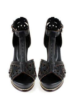 Gladiator Heeled Sandals OASAP.com